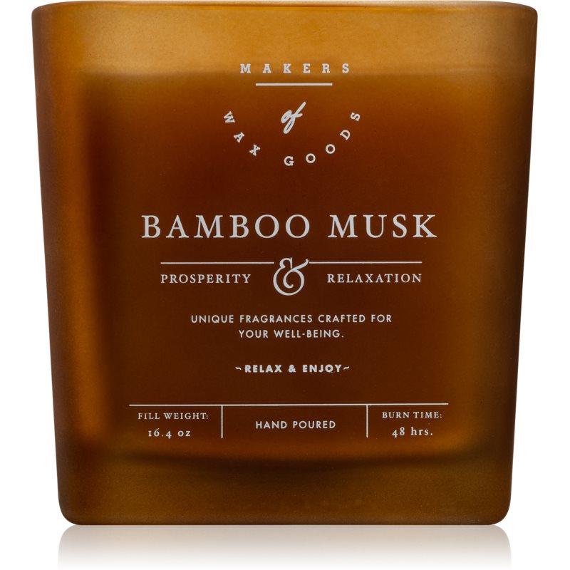 Makers of Wax Goods Bamboo Musk świeczka zapachowa 464,93 g