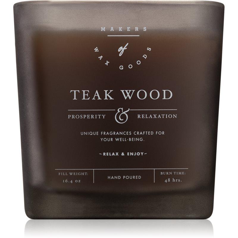 Makers of Wax Goods Teak Wood świeczka zapachowa 464,93 g