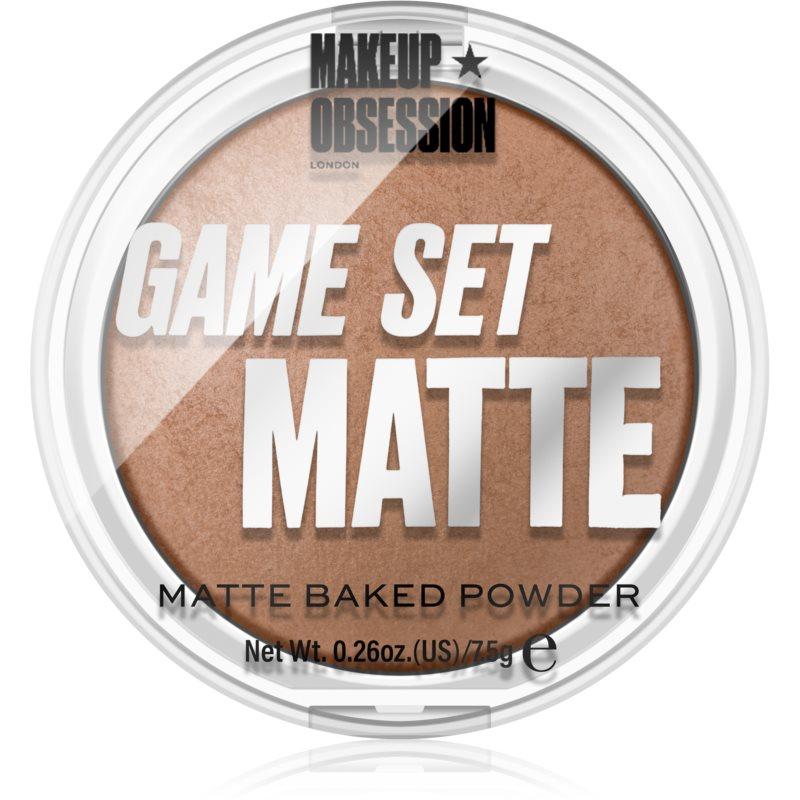 Makeup Obsession Game Set Matte odcień Sahara 7,5 g