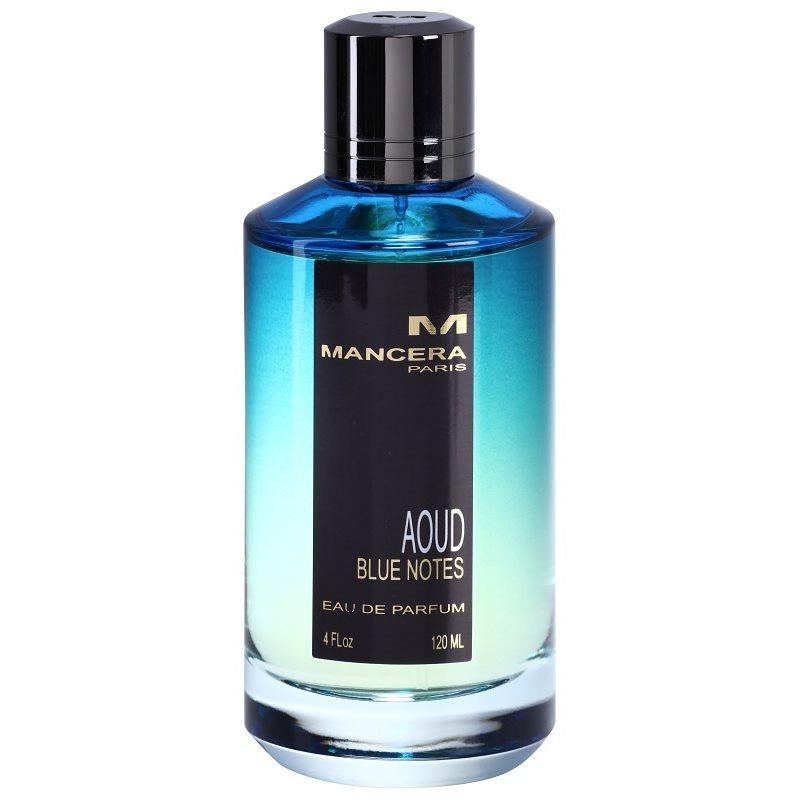 Mancera Aoud Blue Notes woda perfumowana unisex 120 ml