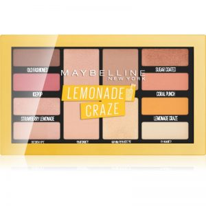 Maybelline Lemonade Craze paleta cieni do powiek 12 g