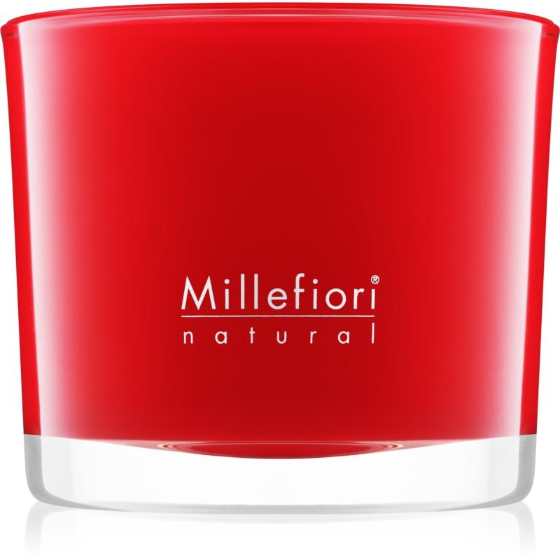 Millefiori Natural Mela & Cannella świeczka zapachowa 180 g
