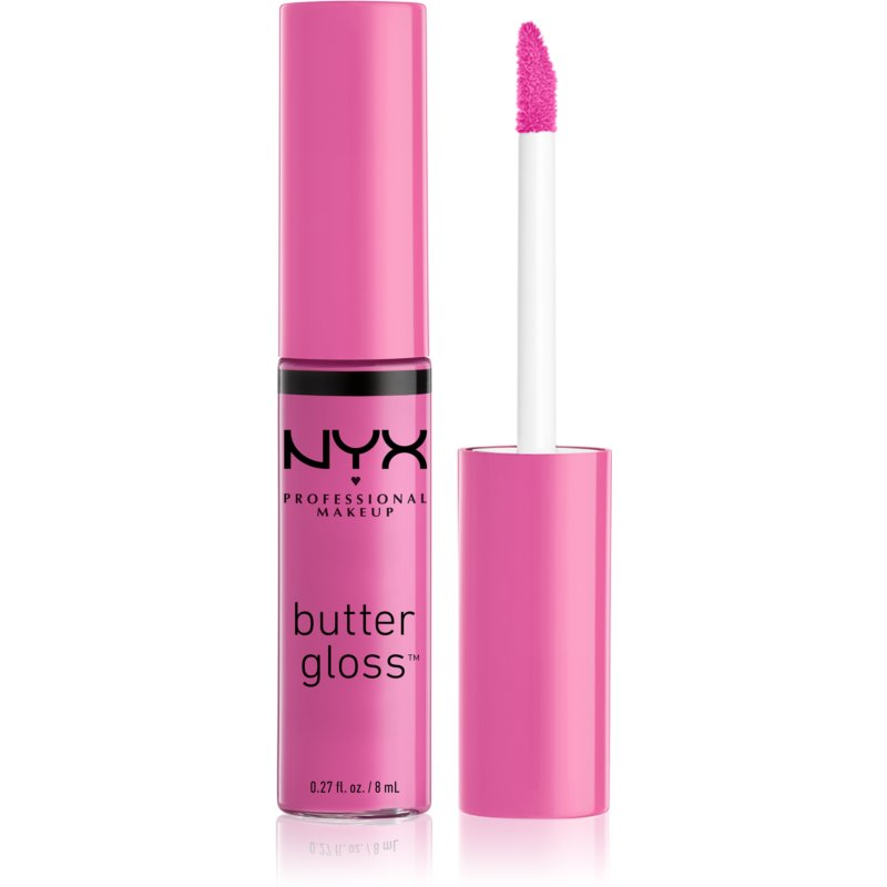 NYX Professional Makeup Butter Gloss błyszczyk do ust odcień 31 Cotton Candy 8 ml