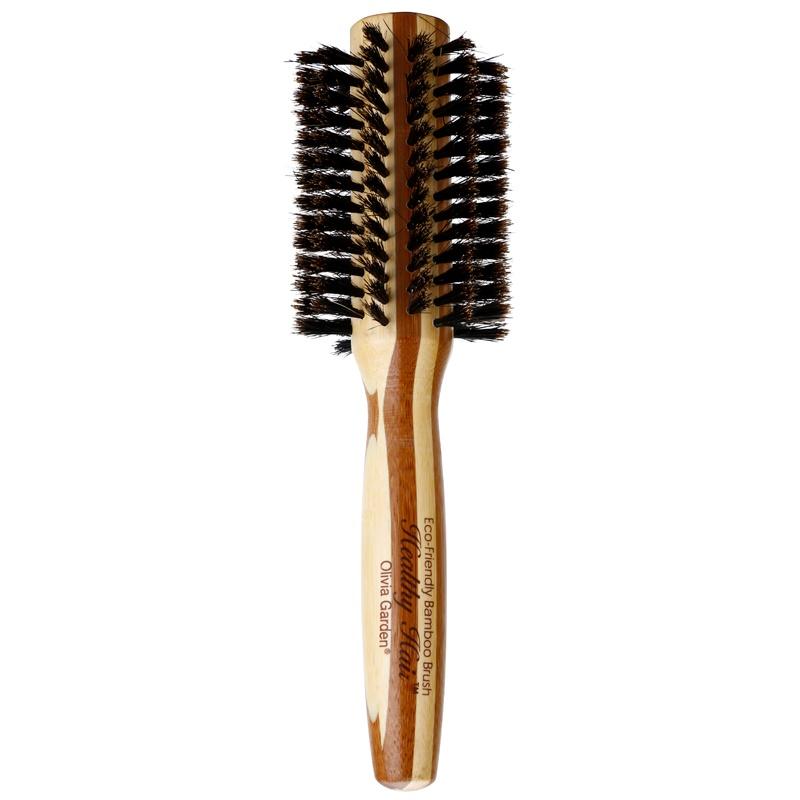 Olivia Garden Healthy Hair 100% Natural Boar Bristles szczotka do włosów średnia 30 mm