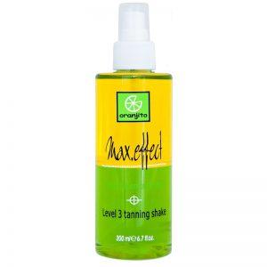 Oranjito Level 3 Shake dwufazowy spray do opalania w solarium 200 ml