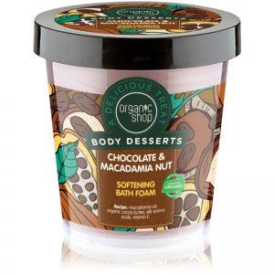 Organic Shop Body Desserts Chocolate & Macademia Nut 450 ml