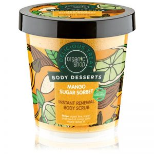 Organic Shop Body Desserts Mango Sugar Sorbet 450 ml