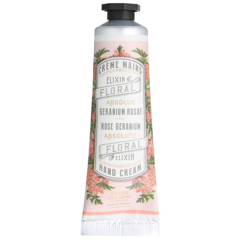 Panier des Sens Rose Geranium krem do rąk 30 ml