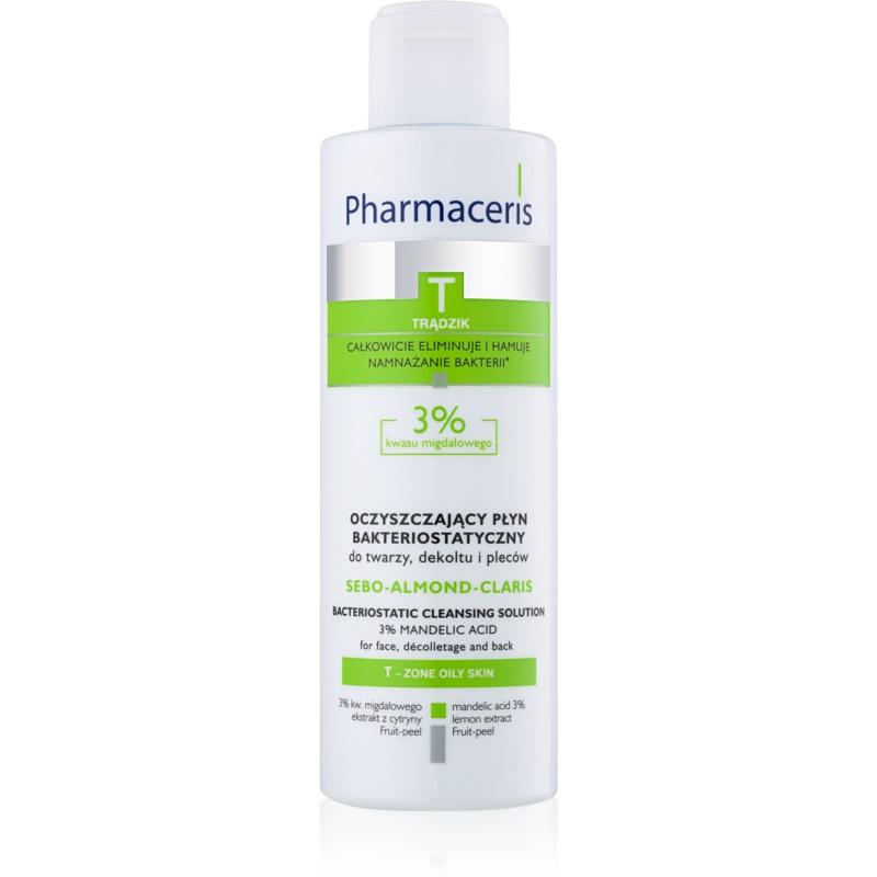 Pharmaceris T-Zone Oily Skin Sebo-Almond-Claris woda oczyszczająca do skóry tłustej i problematycznej 190 ml