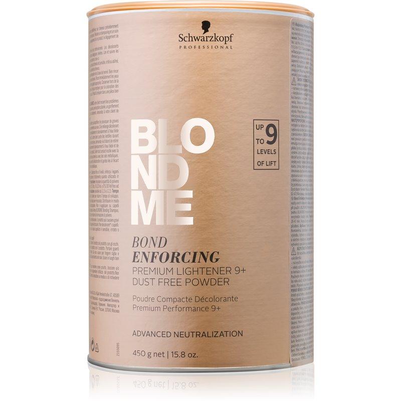 Schwarzkopf Professional Blondme rozjaśniacz w proszku premium 9+ bezpyłowy do profesjonalnego użytku 450 g