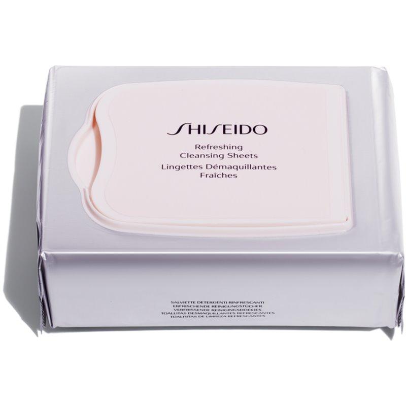 Shiseido Generic Skincare Refreshing Cleansing Sheets chusteczki oczyszczające głęboko oczyszczające 30 szt.