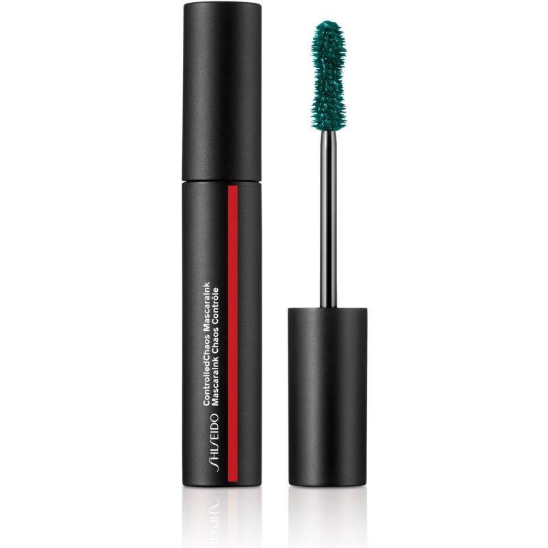 Shiseido Makeup Controlled Chaos MascaraInk tusz pogrubiający odcień 04 Emerald Energy 11,5 ml