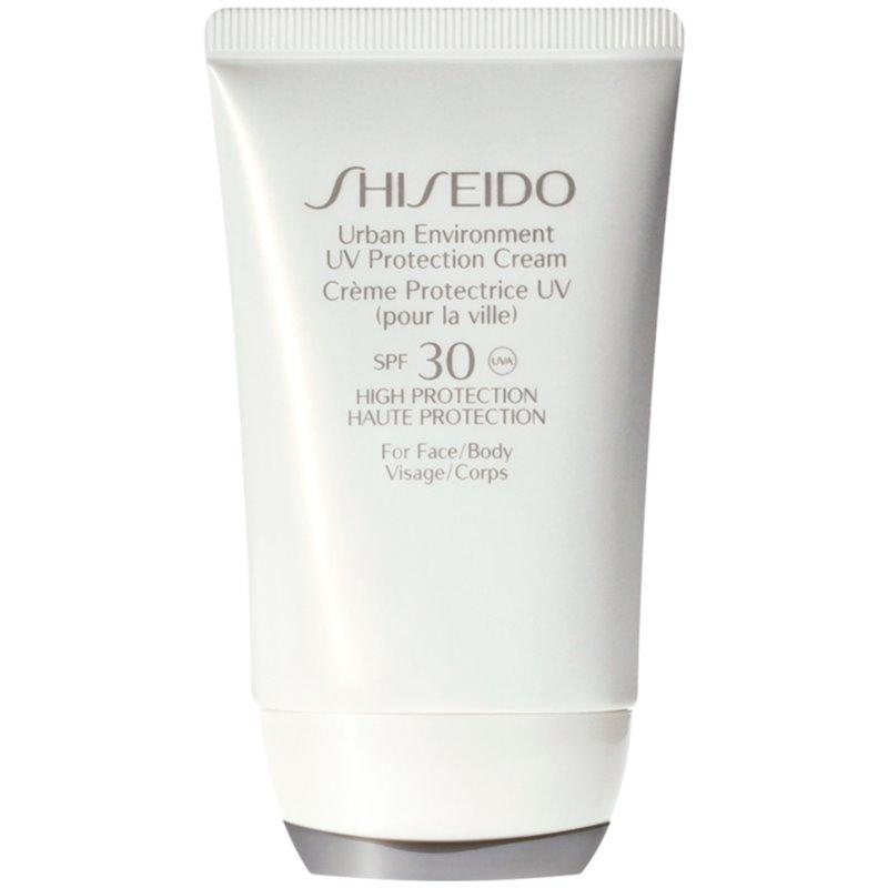 Shiseido Sun Care Urban Environment UV Protection Cream krem ochronny do twarzy i ciała SPF 30 50 ml