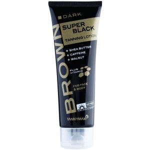 Tannymaxx Brown Super Black Dark krem do opalania w solarium 125 ml