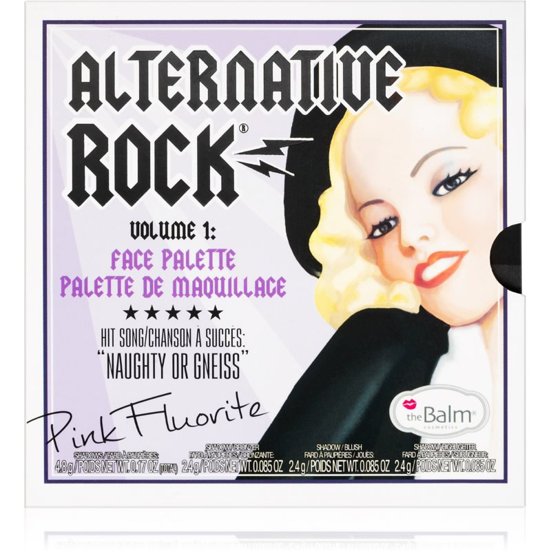 theBalm Alternative Rock Vol. 1 paleta multifunkcyjna 12 g