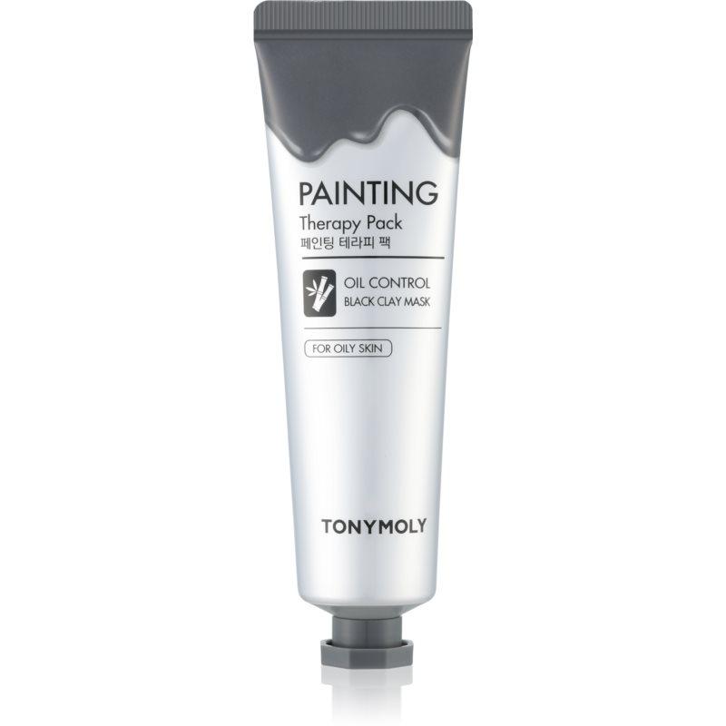 TONYMOLY Painting Therapy Pack maseczka z glinki do skóry tłustej 30 g