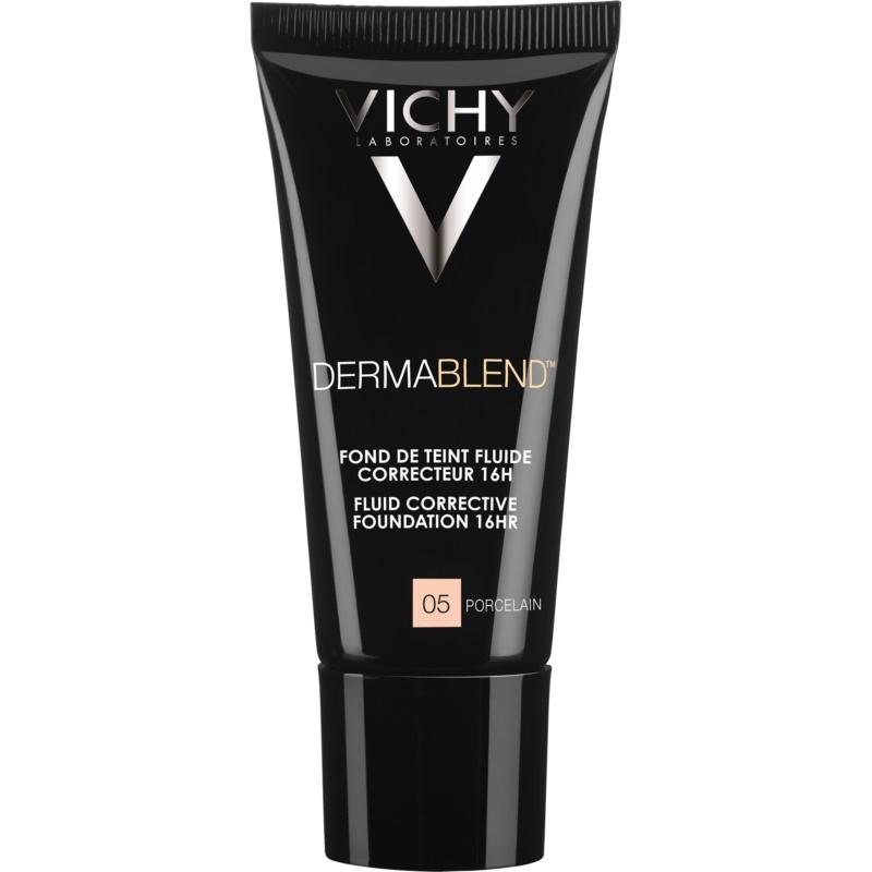 Vichy Dermablend podkład korygujący z filtrem UV odcień 05 Porcelain 30 ml
