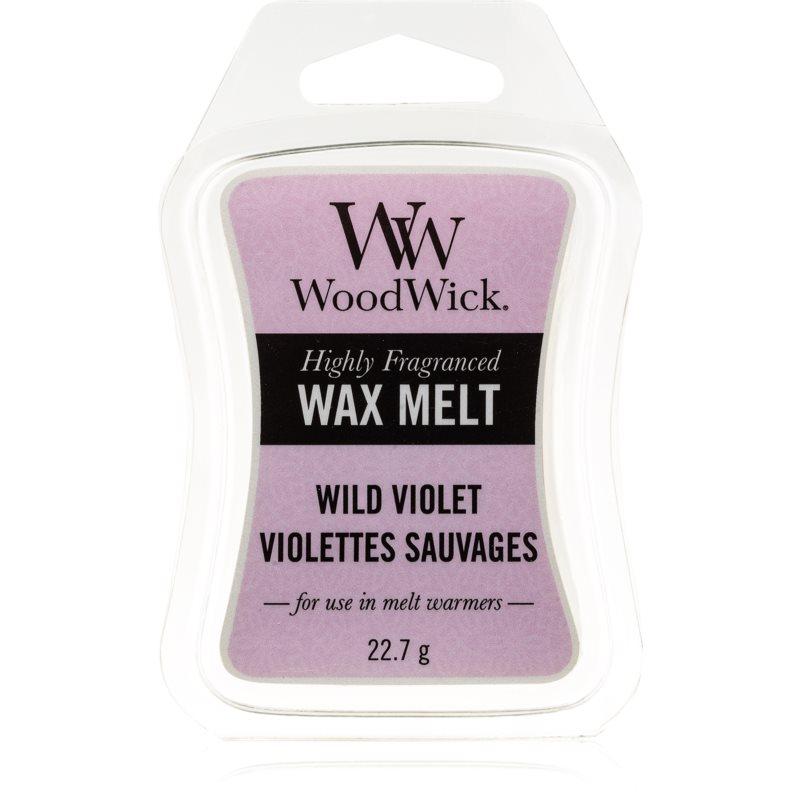 Woodwick Wild Violet wosk zapachowy 22,7 g