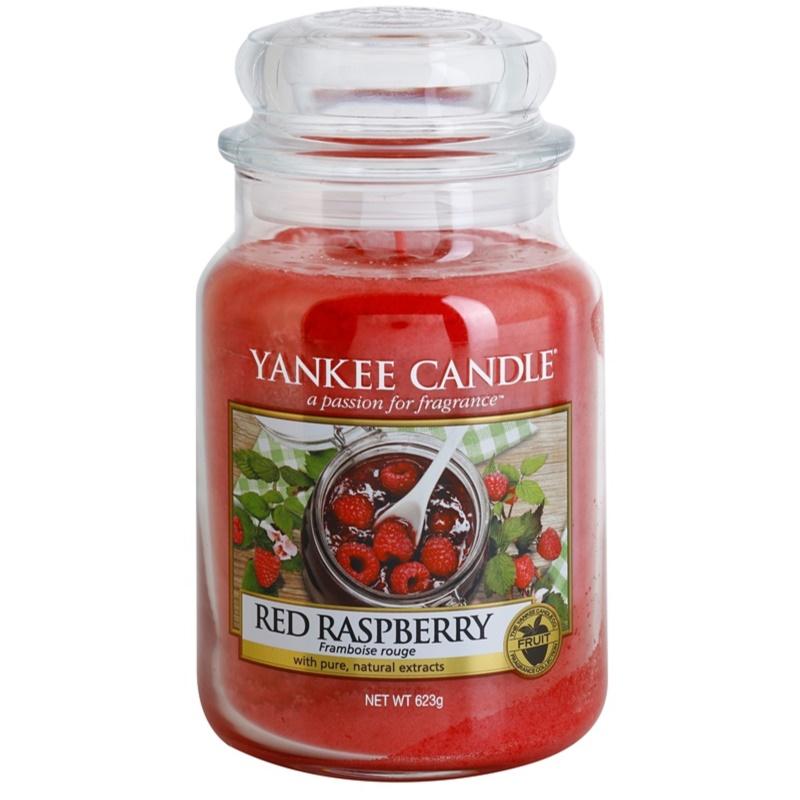 Yankee Candle Red Raspberry świeczka zapachowa Classic duża 623 g