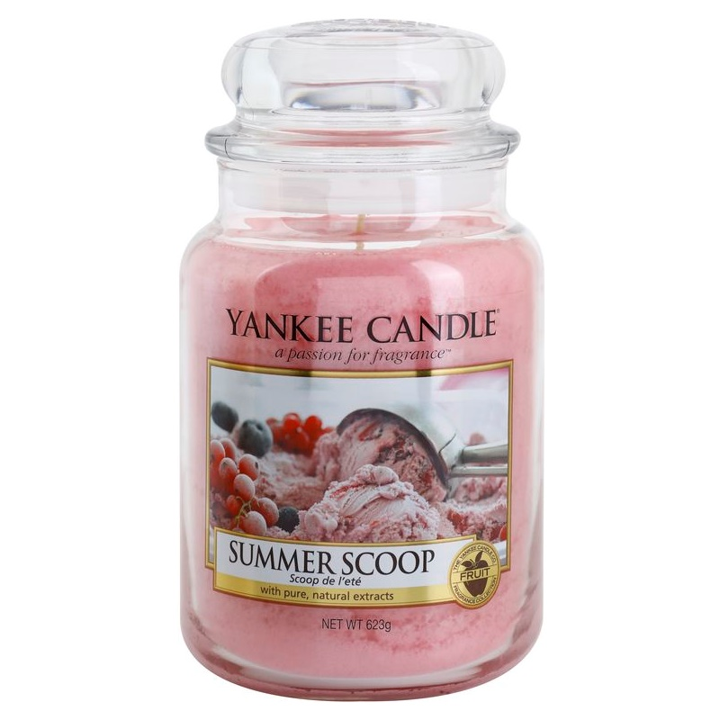 Yankee Candle Summer Scoop świeczka zapachowa Classic duża 623 g