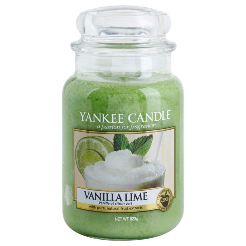 Yankee Candle Vanilla Lime świeczka zapachowa Classic duża 623 g
