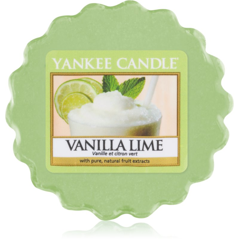 Yankee Candle Vanilla Lime wosk zapachowy 22 g