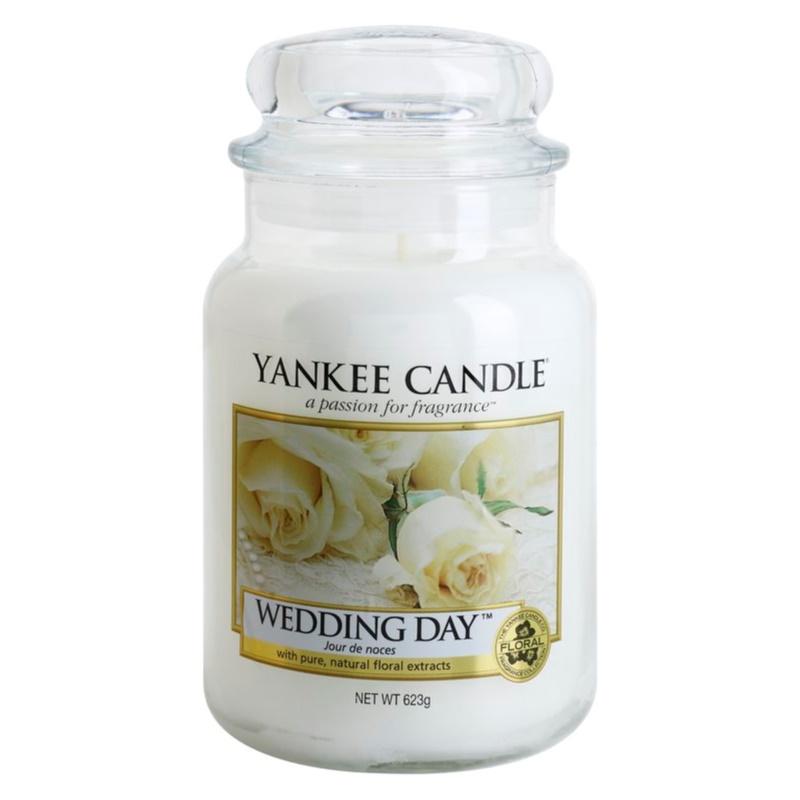 Yankee Candle Wedding Day świeczka zapachowa Classic duża 623 g