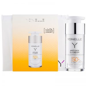 Yonelle Anti - Age D3 ochronny krem przeciwzmarszczkowy SPF 50+ 30 ml