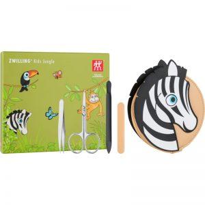 Zwilling Kids Jungle zestaw do manicure dla dzieci Zebra 4 szt.